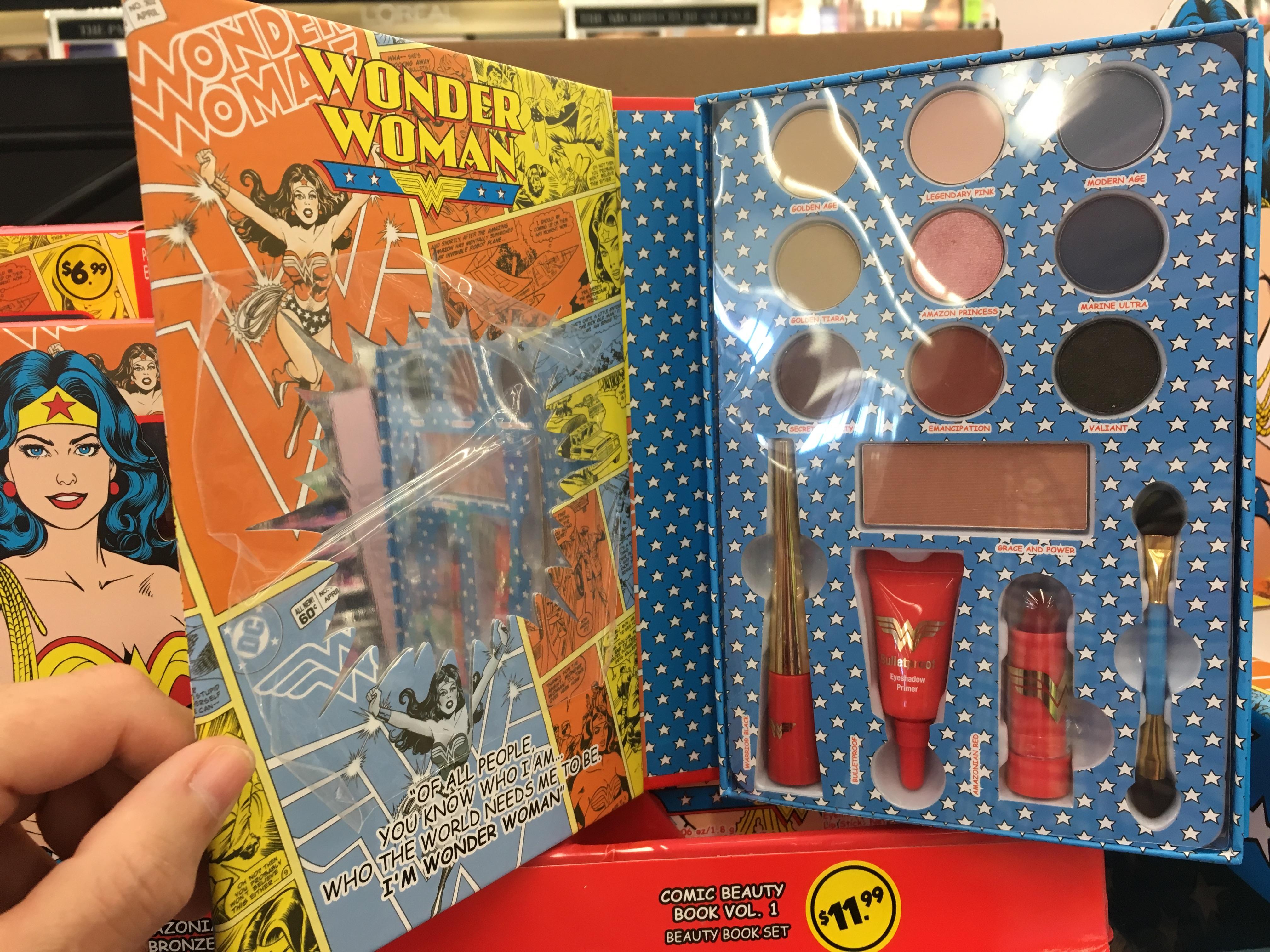 Wonder Woman Makeup Spotted At Walgreens U2013 Comics Worth Reading