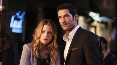 Lucifer and detective Chloe Decker