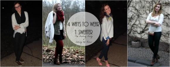 styling a sweater