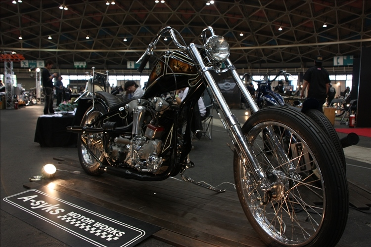 JOINTS CUSTOM BIKE SHOW 2010 -A-syks MOTOR WORKS-