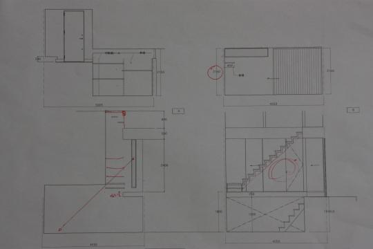 実施設計1 -展開図-