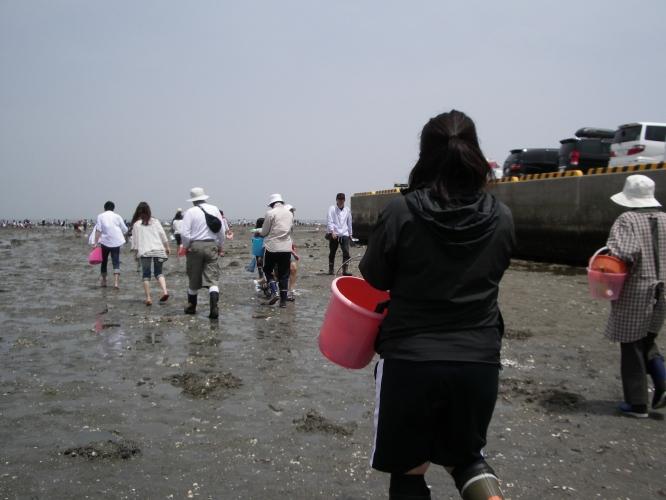 潮干狩り -松名瀬海岸-