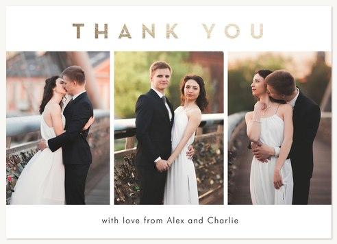 Wedding Thank You Cards - Elegant Thank You