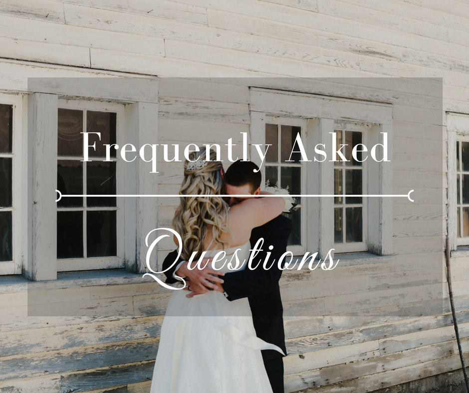 Wedding FAQ - Commellini Estate