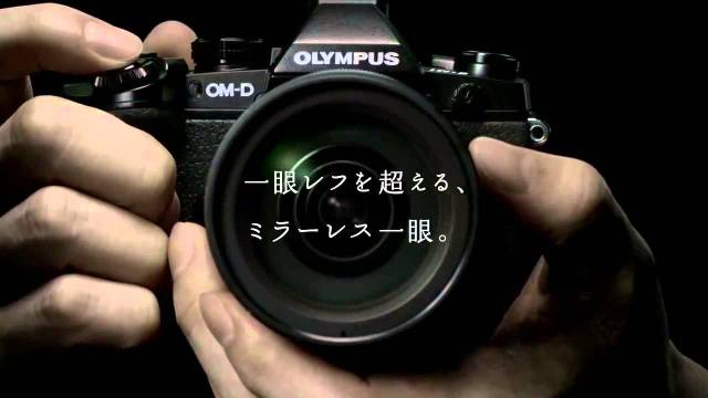 宮﨑あおいが出演するOLYMPUS「オリンパスの常識」篇 CM