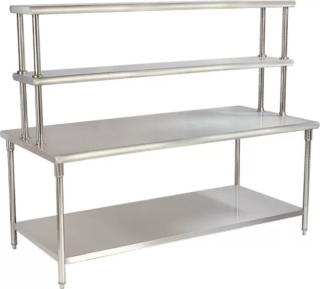 stainless steel top kitchen table couchable simple kitchen cabinets store food supplies