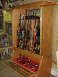 PDF DIY Hidden Wood Gun Cabinet Plans Download great ...