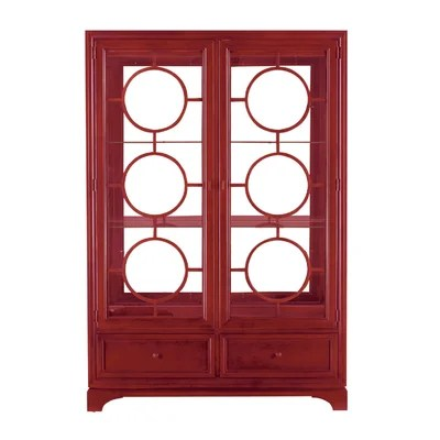 Image of Stanley Continuum Display China Cabinet Finish: Crme (STA3859_3402727)