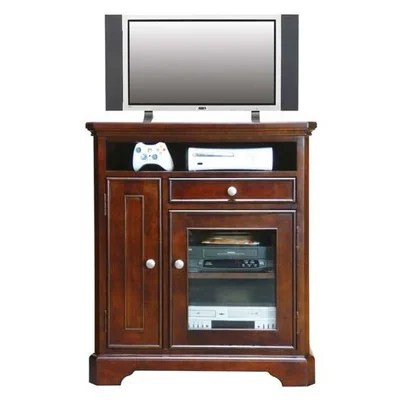 buy low price winners only inc topaz 36 tall tv stand in cherry wxq1007. Black Bedroom Furniture Sets. Home Design Ideas