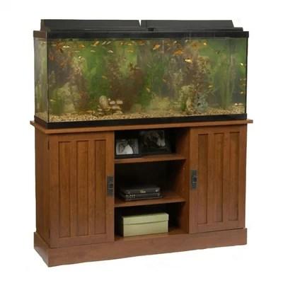 55 Gallon Aquarium Stand in Heirloom Cherry | Fish Aquarium Mart