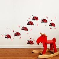 Ladybug Wall Decals - TKTB
