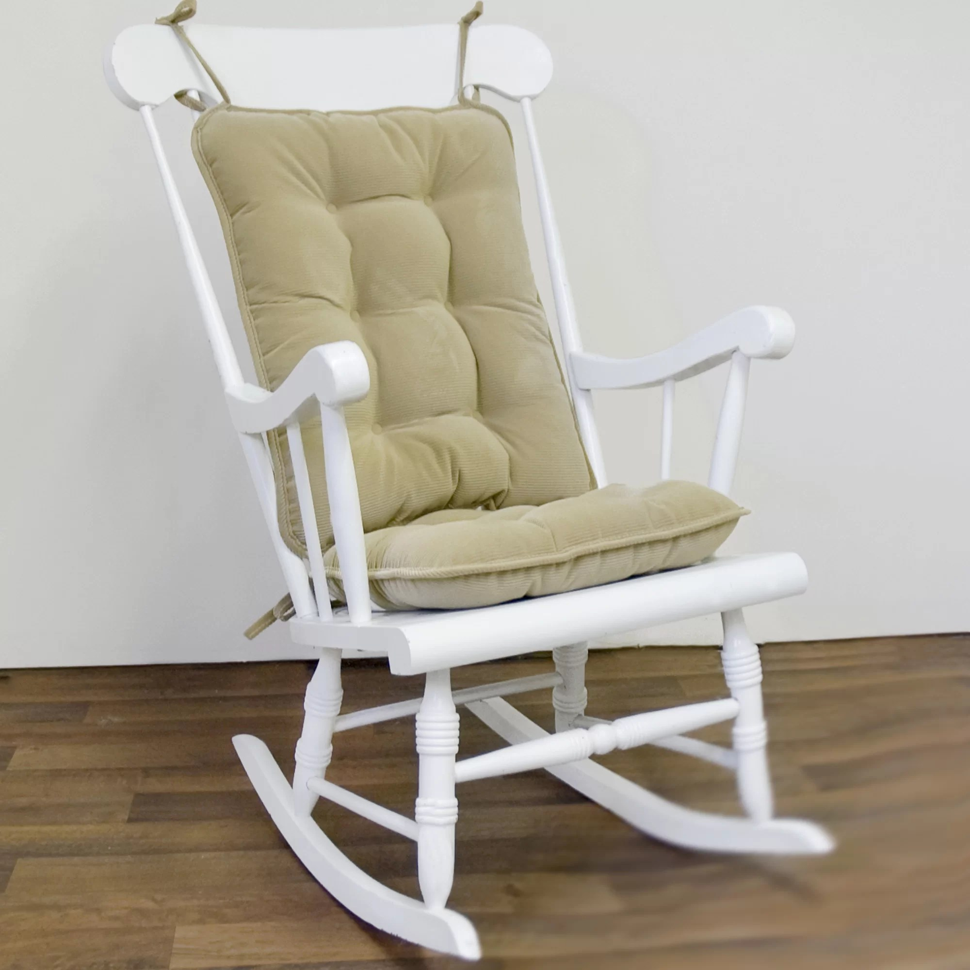 Rocking Chair With Cushions Greendale Home Fashions 2 Piece Solid Rocking Chair