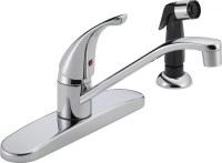 Peerless Faucets Single Handle Centerset Kitchen Faucet ...