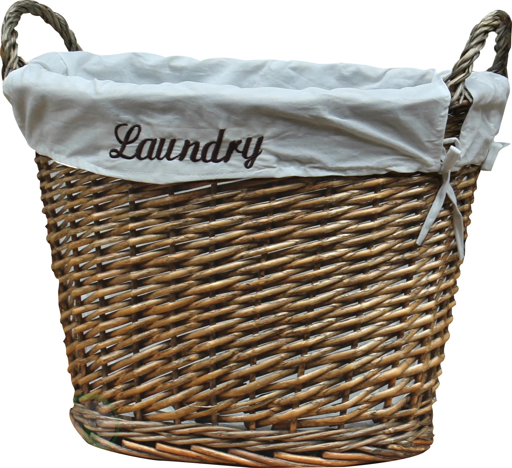 Decorative Laundry Baskets Quickway Imports Wicker Laundry Basket Ebay