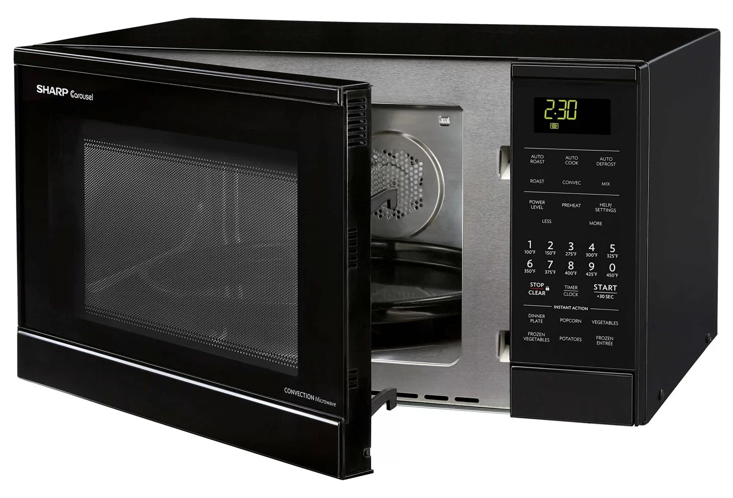 Countertop Microwave Convection Oven Combo Sharp 9 Cu Ft 900w Countertop Microwave Black Ebay