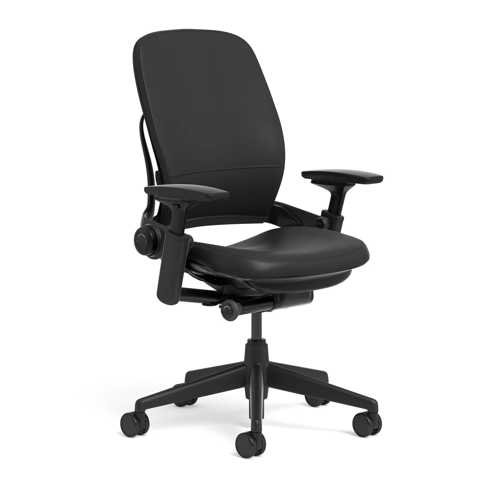 High Back Desk Chair Steelcase Leap Leather High Back Desk Chair Ebay
