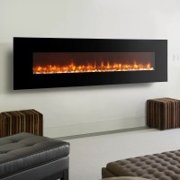Dynasty Fireplaces LED Wall Mount Electric Fireplace | eBay