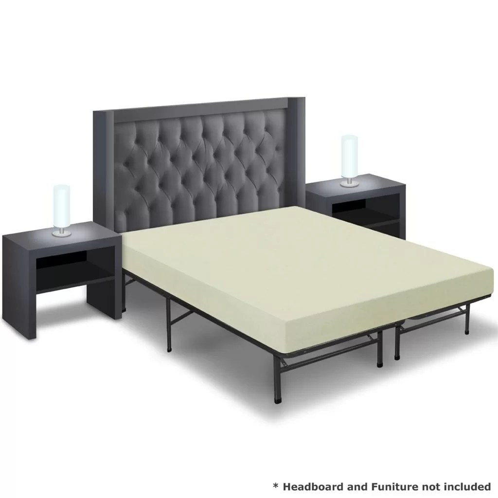 Best Price Quality 6quot Memory Foam Mattress And Bed Frame