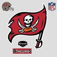 Fathead NFL Logo Wall Decal   eBay