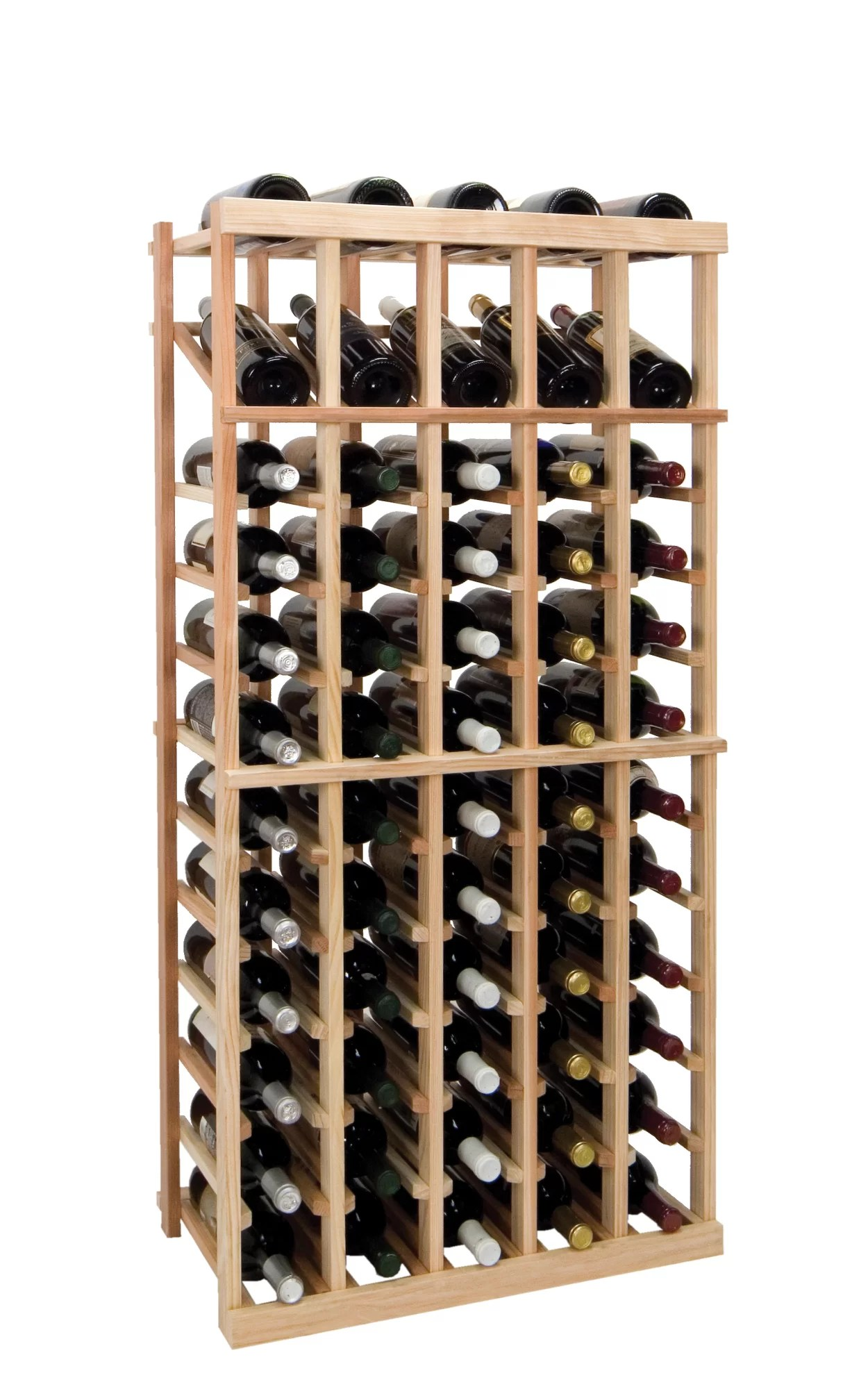 In Floor Wine Storage Wine Cellar Innovations Vintner Series 60 Bottle Floor