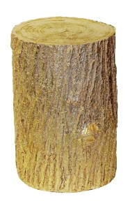 Hickory Manor House Tree Stump End Table   eBay