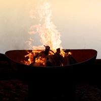 Fire Pit Art Scallops Fire Pit | eBay
