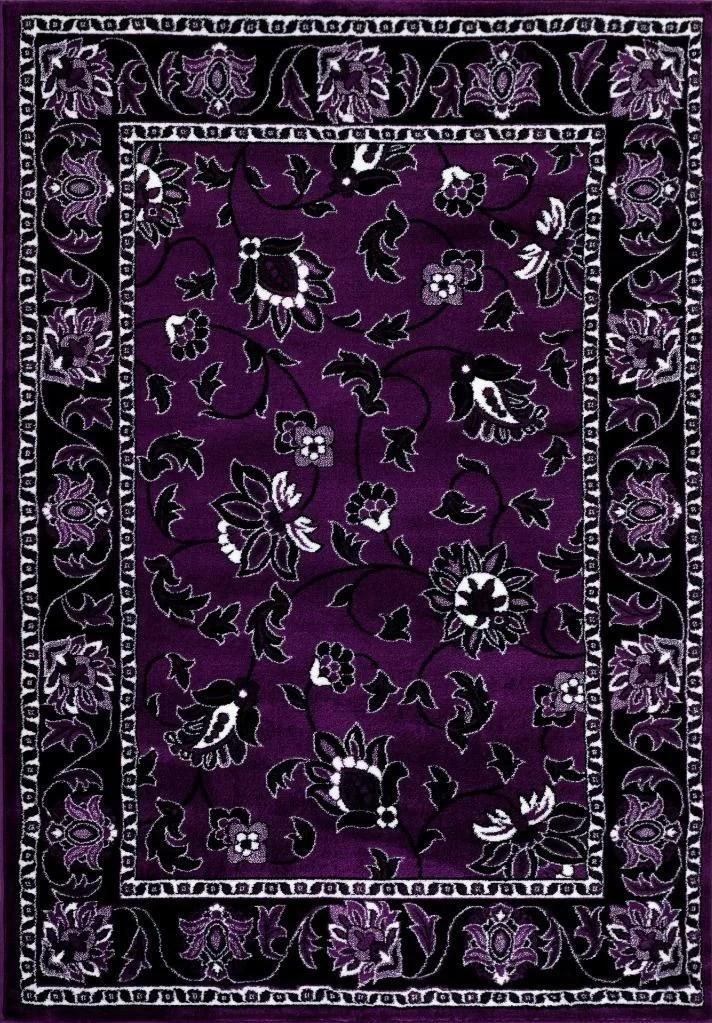 Persian Rugs Purple Area Rug Ebay