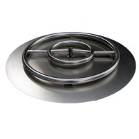 Arctic Flame Stainless Steel Ring Burner Fire Pit