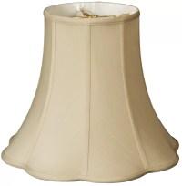 "Royal Designs Timeless 10"" Silk Bell Lamp Shade | eBay"