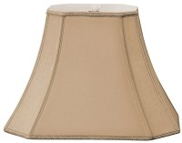 "Royal Designs Timeless 18"" Silk/Shantung Bell Lamp Shade ..."