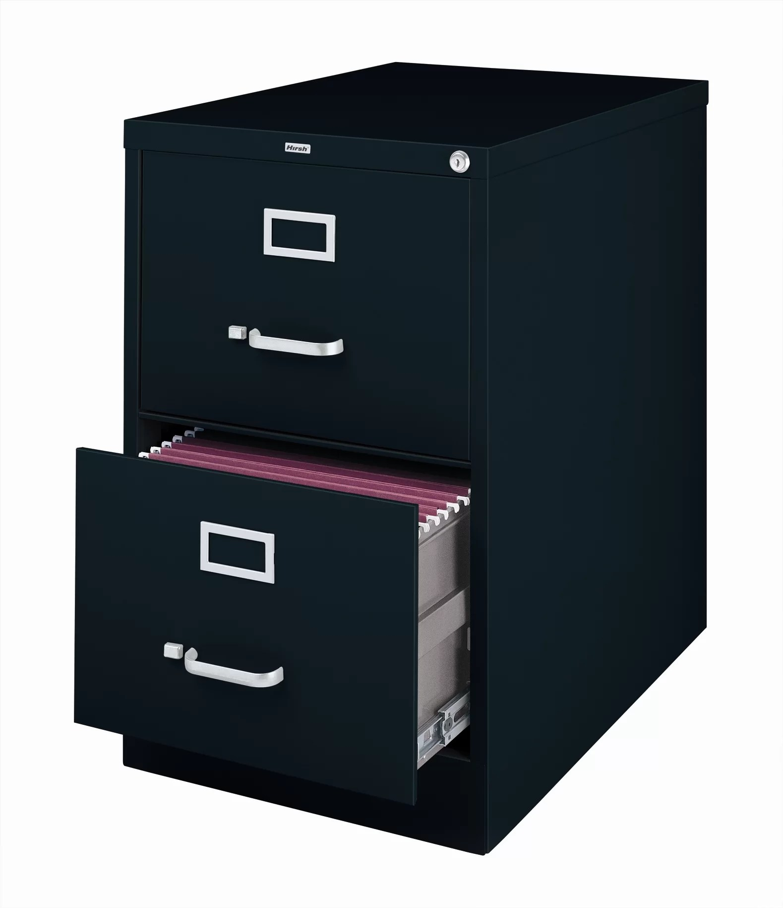 2 Drawer File Cabinet Commclad 2 Drawer Commercial Legal Size File Cabinet Black
