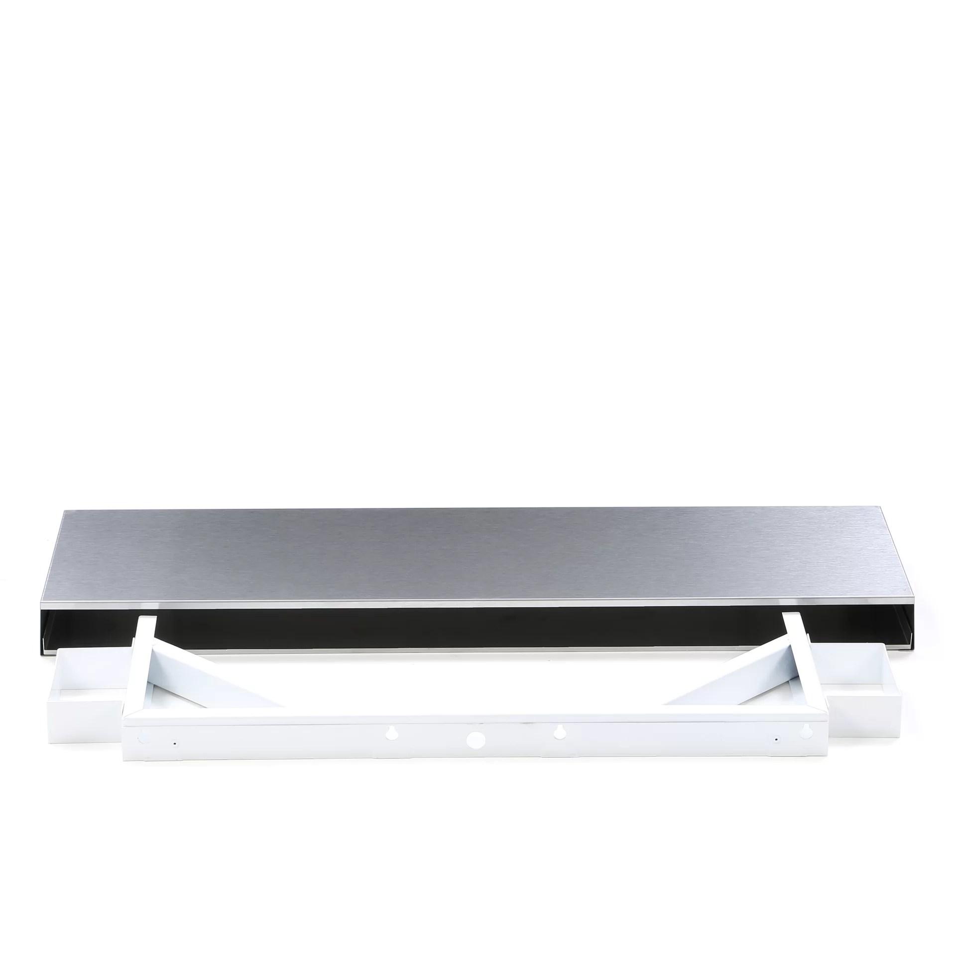 Danver Stainless Steel Floating Shelf Ebay