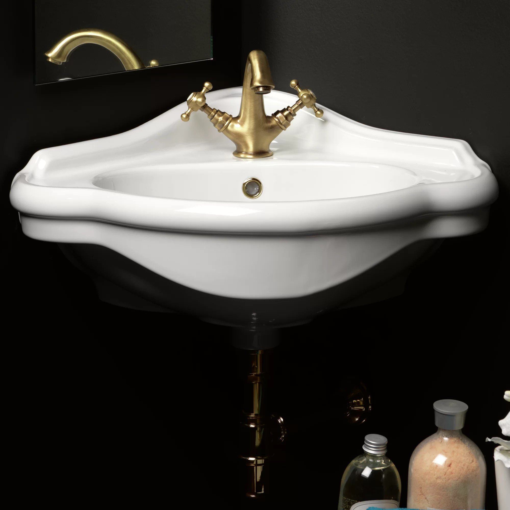 Industrial Pedestal Sink Ws Bath Collections Contea 23 2 Quot Pedestal Bathroom Sink