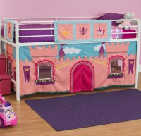 DHP Princess Castle Curtain Set for Junior Loft Bed | eBay