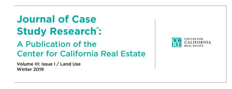 CCRE - Center for California Real Estate
