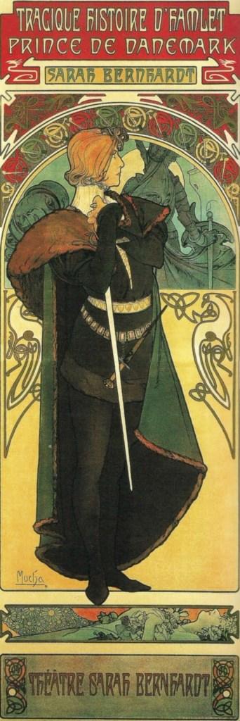 Art Nouveau Sarah Bernhardt Mucha