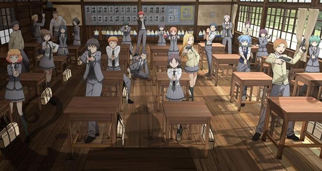 Persona 5 Girls Wallpaper Assassination Classroom S Anime Avec Sa Seconde Bande