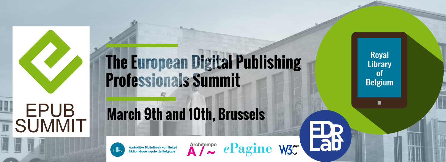Epub Libr 2nd Epub Summit Will Be Held In Brussels On The 9th And 10th Of