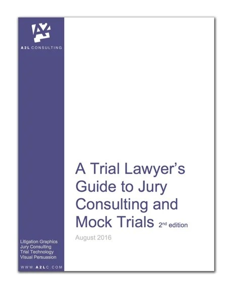 Trial Lawyer\u0027s Guide to Jury Consultants and Mock Trials 2nd Edition - consulting report