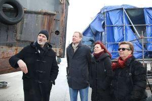visite du Chantier Naval rénové de PdB-26.01.17 (1)