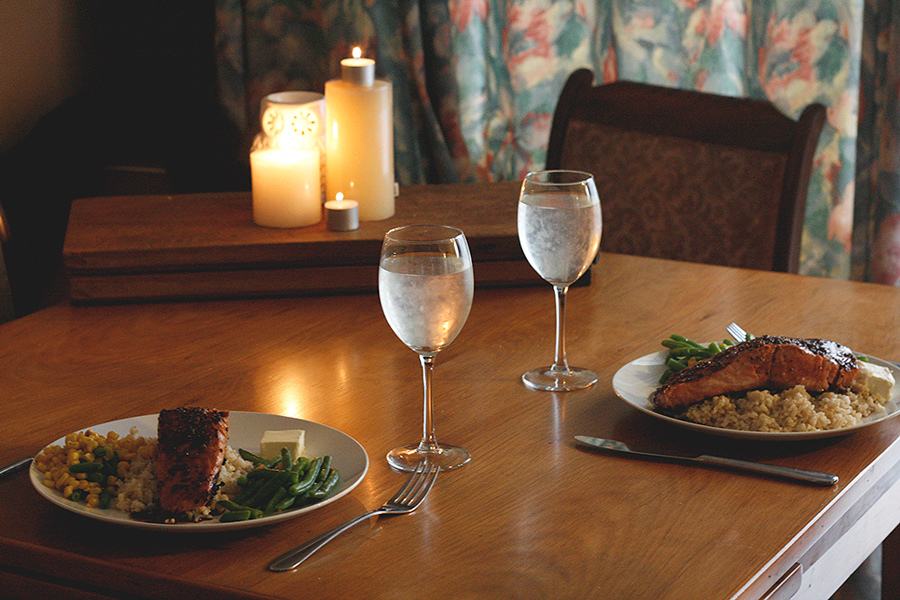 Most Comfortable Couch Romantic Valentine's Day Dinner Made Easy In Your Condo Home
