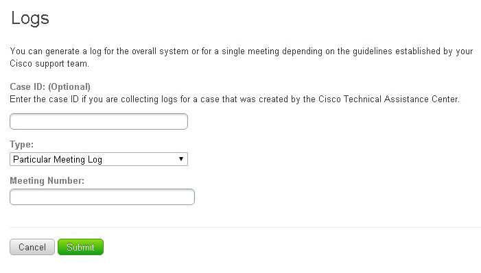 How to gather CWMS logs - Cisco Community