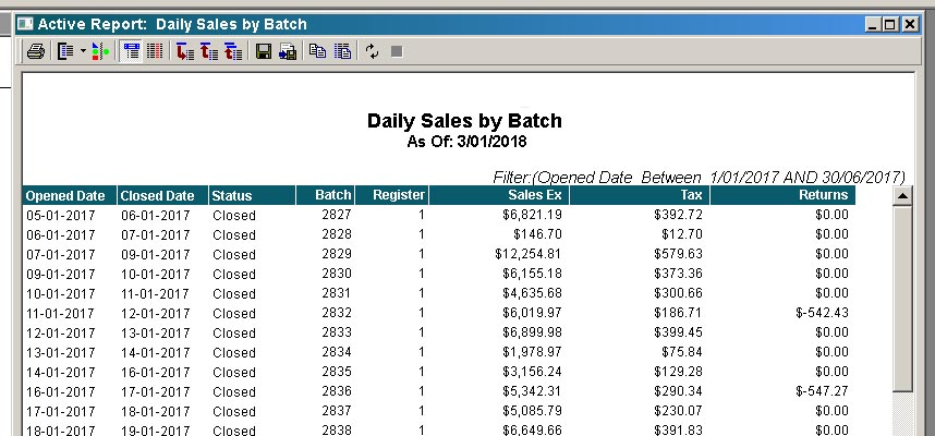 How to Pull Daily Sales Summary - Microsoft Dynamics RMS Forum