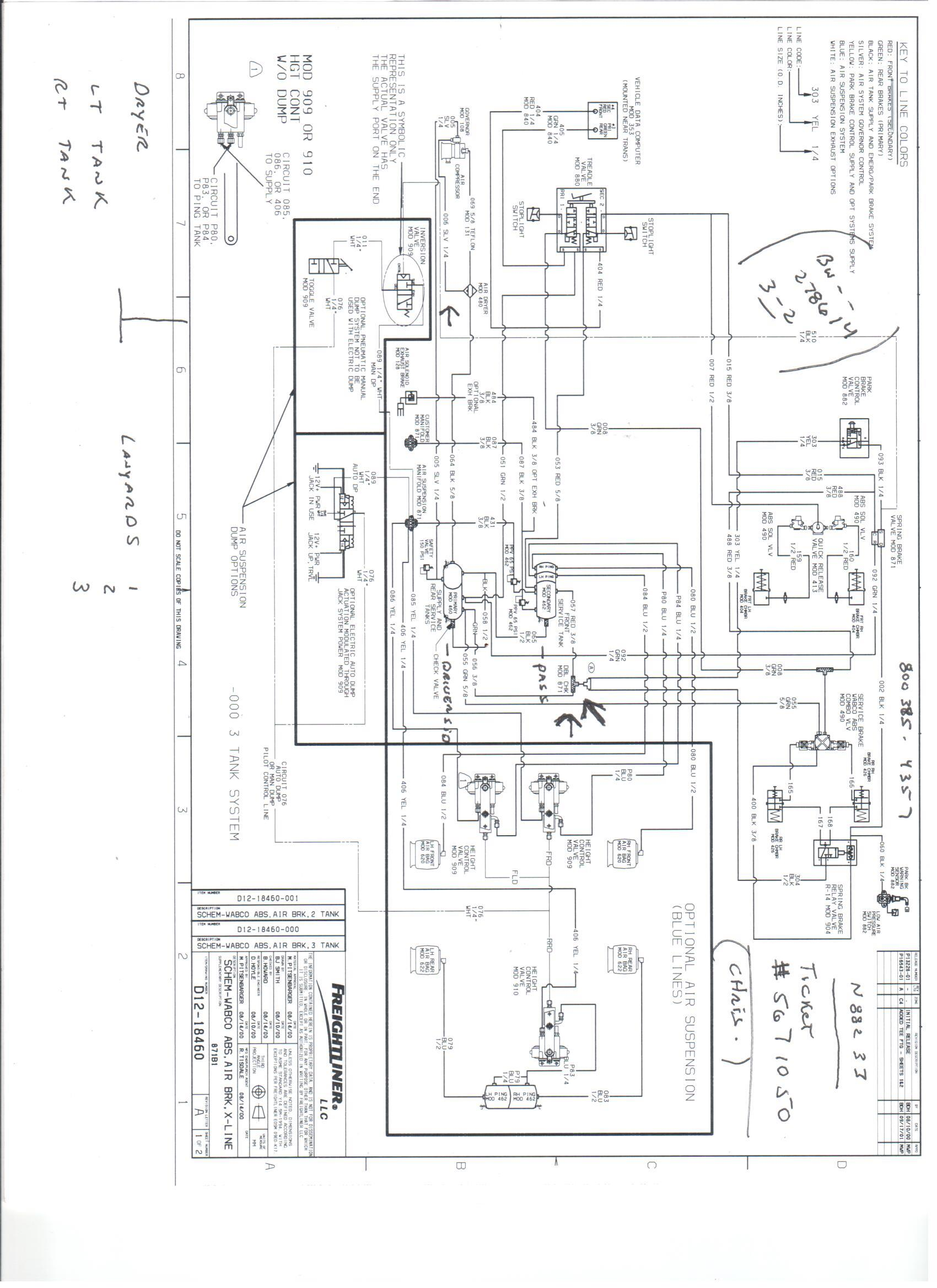 air bag dump valve schematic
