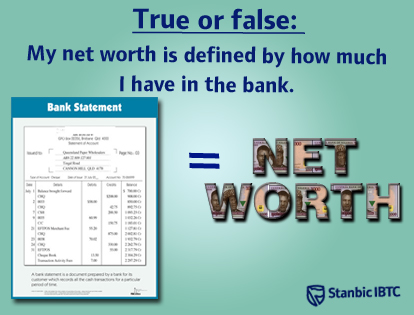 Net worth versus net income - Standard Bank community - 2268