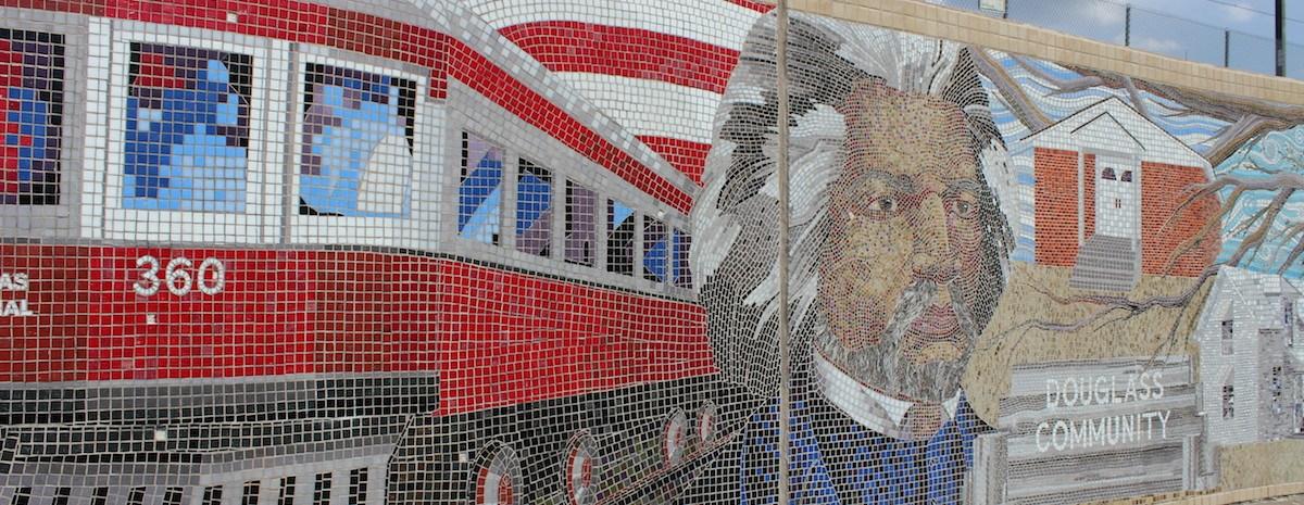 Douglass Mural in Plano