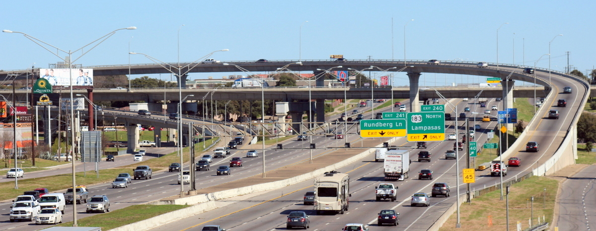 I-35 at US 183 improvements