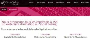 Webconference Socialsellingforum