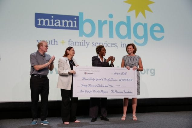 Primerica Foundation awards $20K grant to Miami BridgeYouth  Family