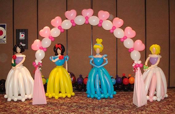14 Ideias Para Fazer Festa Infantil De Princesas